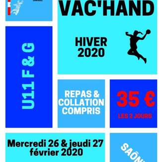 Stage Vac'Hand Hiver 2020